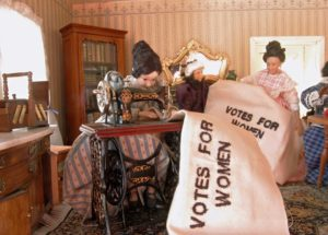 Votes By Women image by Tangren