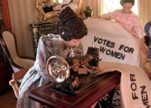 Votes by Women photo by Tangren