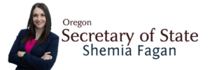 Or Secretary of State Shemia Fagen